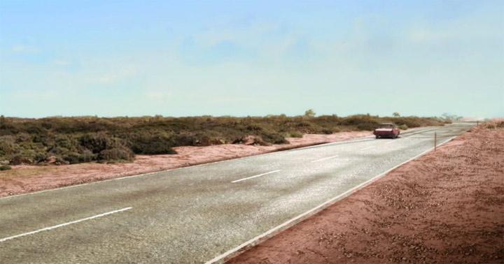 Animated Short: Schnurstraks durch die australische Wüste