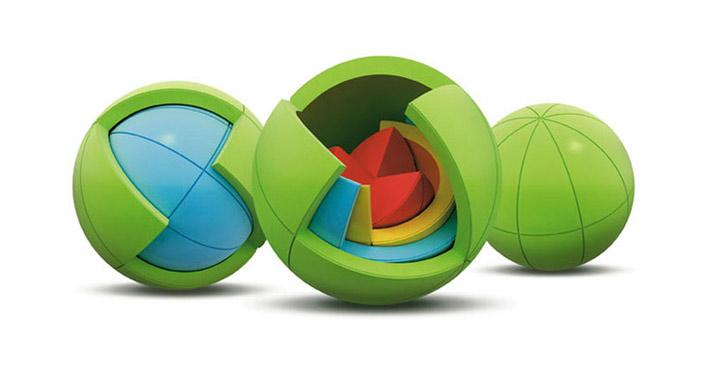 Der Puzzleball OBLO_Puzzle_Sphere