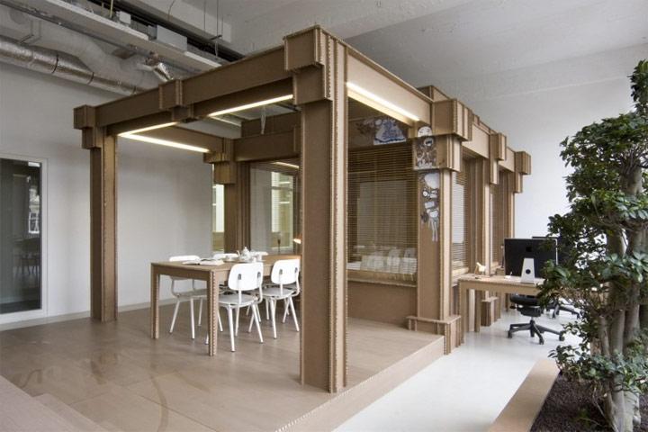 Ein Büro aus Pappe Pappbuero_03