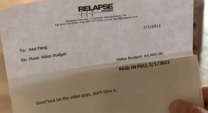 5.000$ verprassen für den Videodreh RED_FANG_Wires