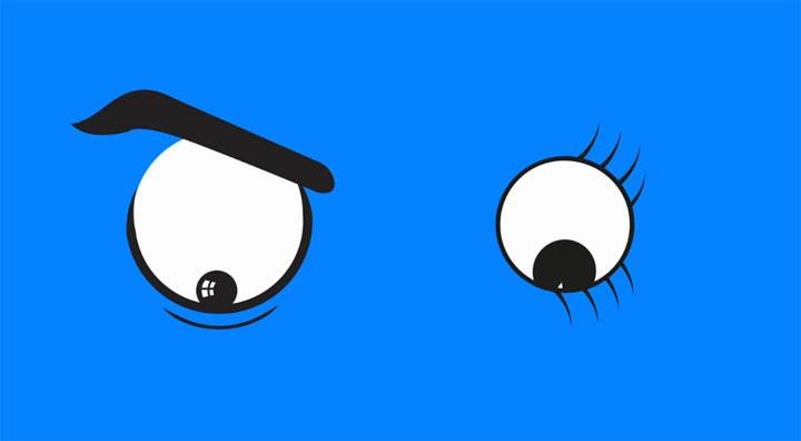 Augenverdrehende Animation: REƧƎƎИ RESEEN_animation