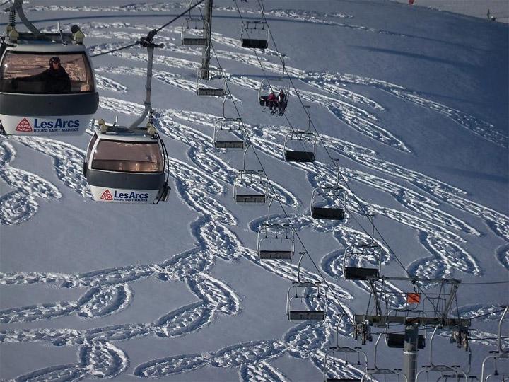 Geometrische Schneemusterkunst Simon_Beck_05