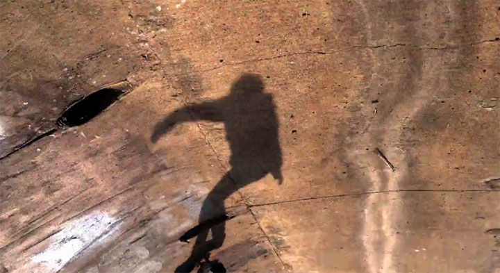 Skateboarder haben 'nen Schatten Skating_Shadows