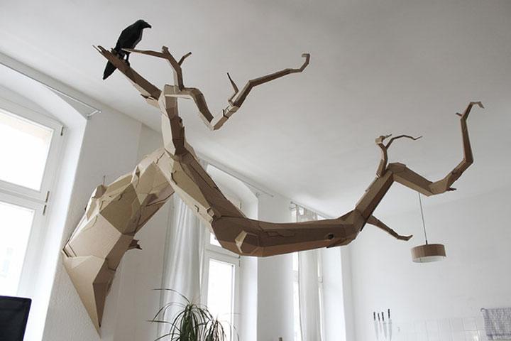Papp-Skulpturen von Bartek Elsner Bartek_Elsner_01