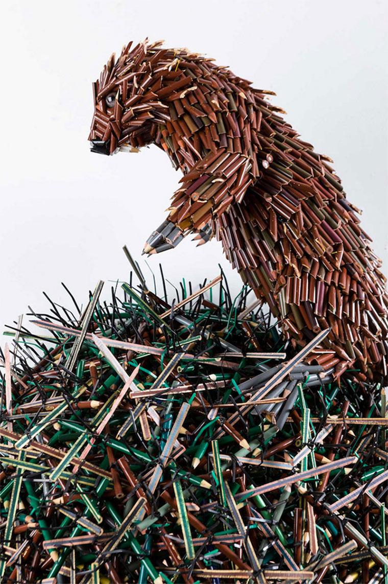 Buntstiftskulpturen Federico_Uribe_02