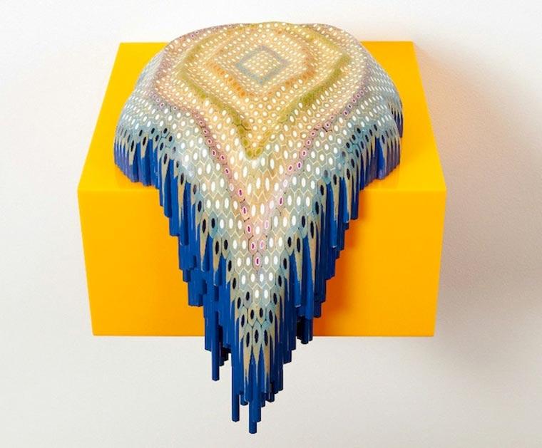 Buntstift-Skulpturen von Lionel Bawden Lionel_Bawden_02