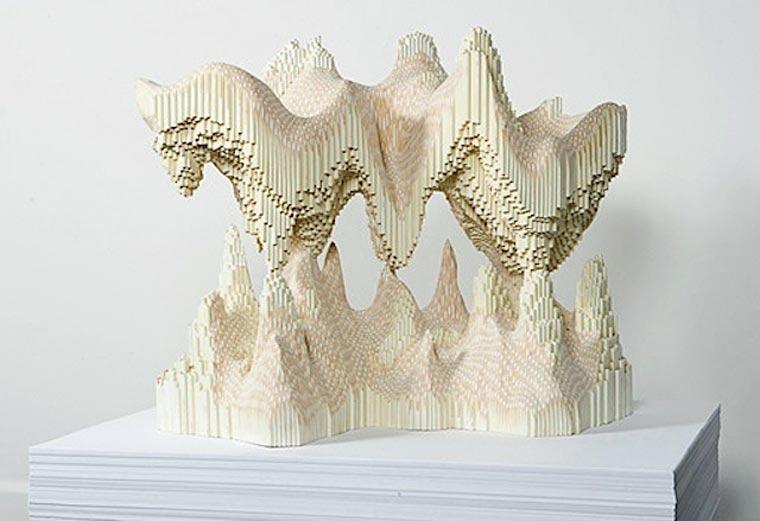 Buntstift-Skulpturen von Lionel Bawden Lionel_Bawden_05