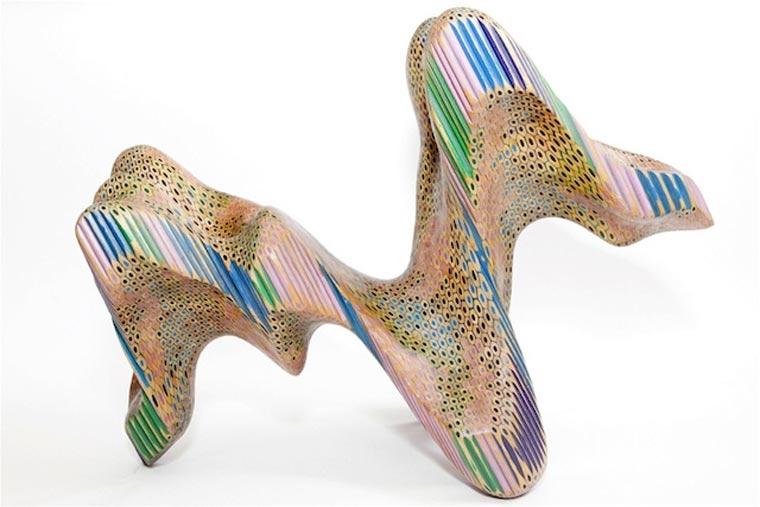 Buntstift-Skulpturen von Lionel Bawden Lionel_Bawden_06