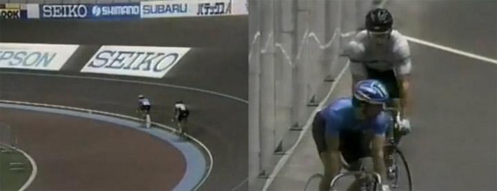 Fahrrad-Sprint - ein Sport voller Stillstand Sprint_cycling