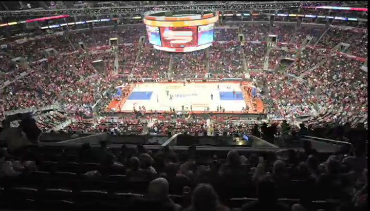Staples Center Timelapse