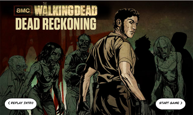 The Walking Dead - Interaktives Webcomic-Game The_Walking_Dead_Reckoning_01