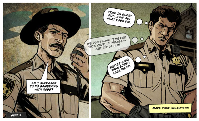 The Walking Dead - Interaktives Webcomicgame