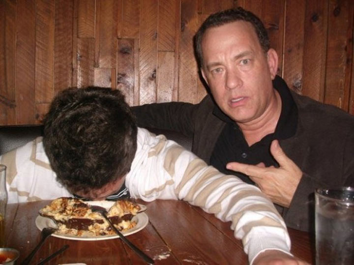 Drunk Pictures with Tom Hanks