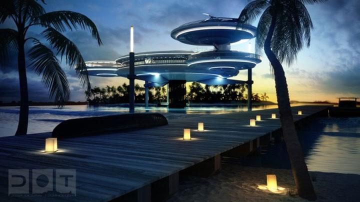 Unterwasser-Überwasser-Hotel Water_discus_hotel_03