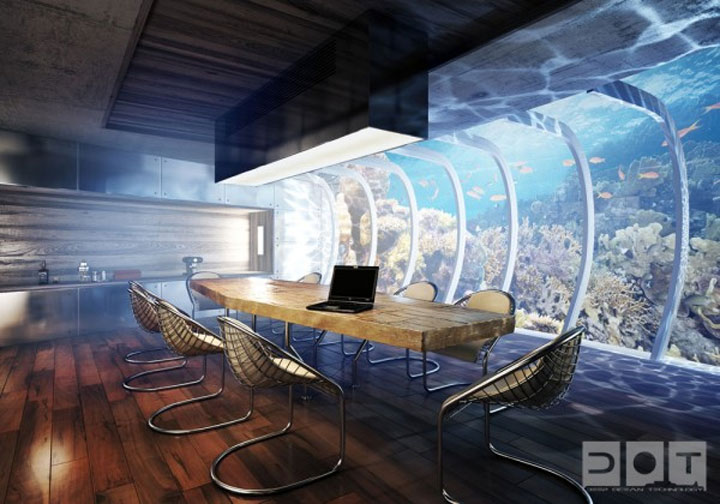 Unterwasser-Überwasser-Hotel Water_discus_hotel_05