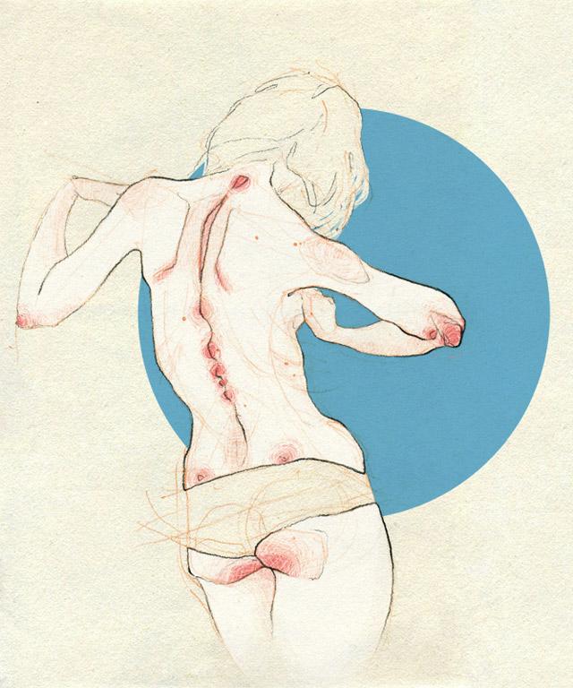anatomische Zeichnungen: Adara Sanchez Adara_Sanchez_02