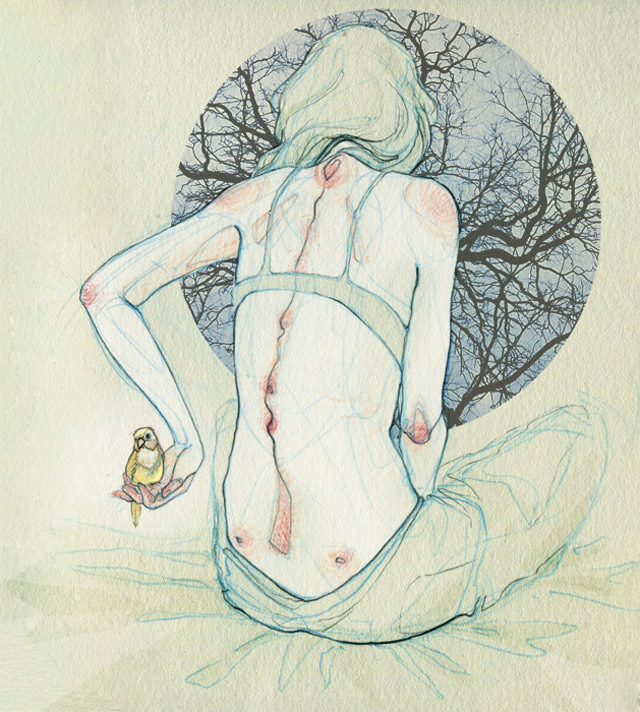 anatomische Zeichnungen: Adara Sanchez Adara_Sanchez_03