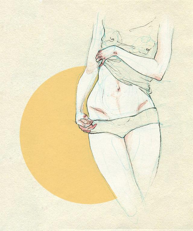 anatomische Zeichnungen: Adara Sanchez Adara_Sanchez_08