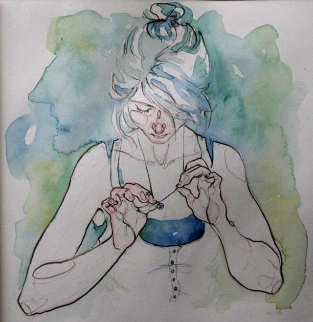 anatomische Zeichnungen: Adara Sanchez Adara_Sanchez_10