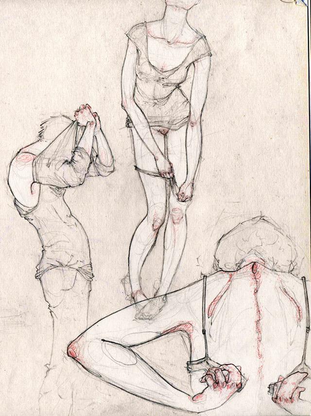 anatomische Zeichnungen: Adara Sanchez Adara_Sanchez_11