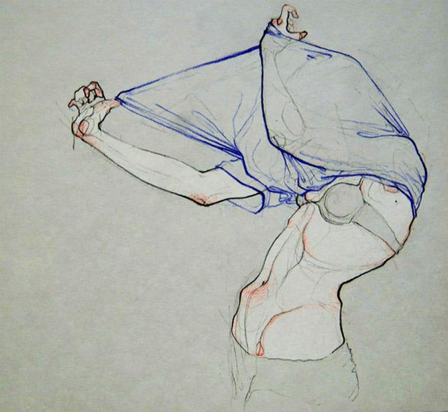 anatomische Zeichnungen: Adara Sanchez Adara_Sanchez_12