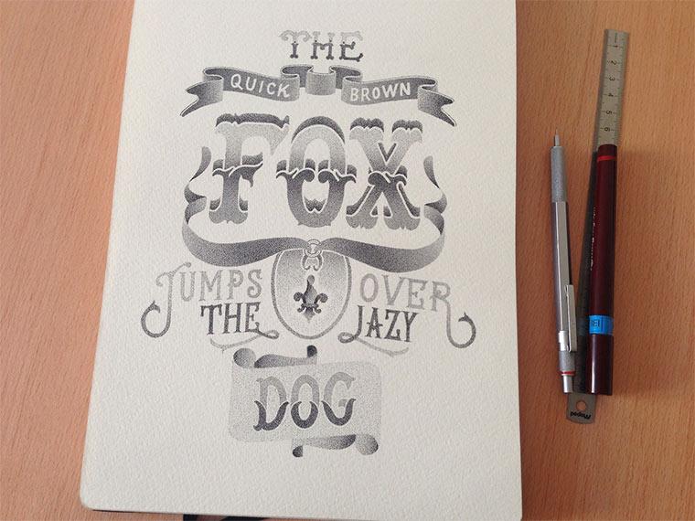 Beeindruckende Tintenpunkt-Typgrafien Casalta_Xavier_02