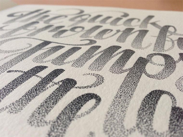Beeindruckende Tintenpunkt-Typgrafien Casalta_Xavier_04