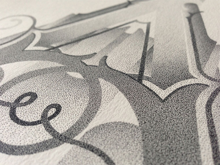 Beeindruckende Tintenpunkt-Typgrafien Casalta_Xavier_08