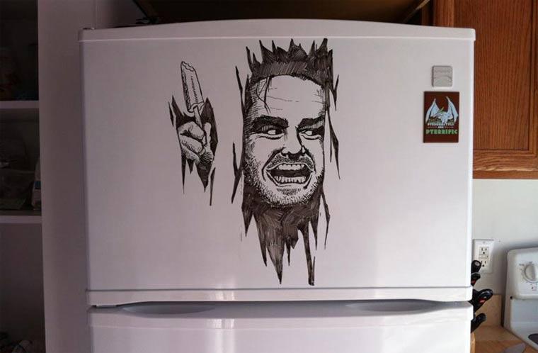 Zeichnungen auf Kühlschränken: Charlie Layton Charlie_Layton_01