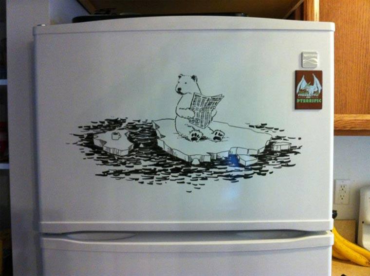 Zeichnungen auf Kühlschränken: Charlie Layton Charlie_Layton_09