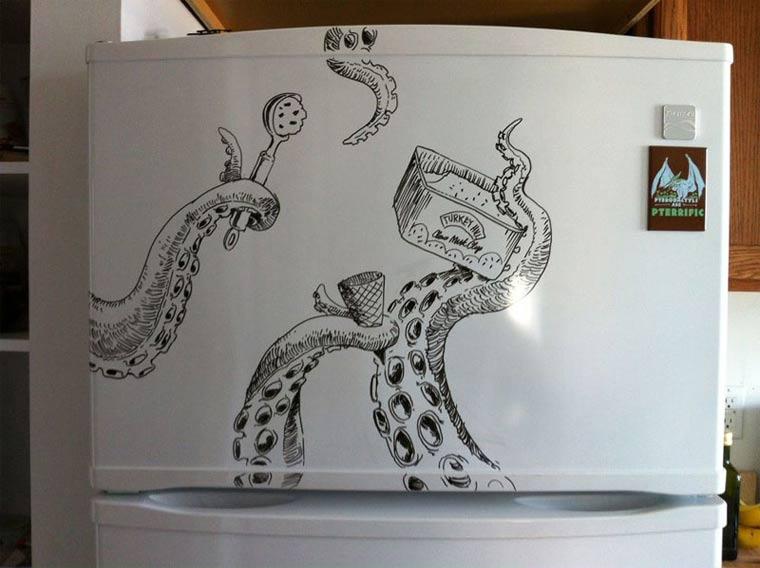 Zeichnungen auf Kühlschränken: Charlie Layton Charlie_Layton_12