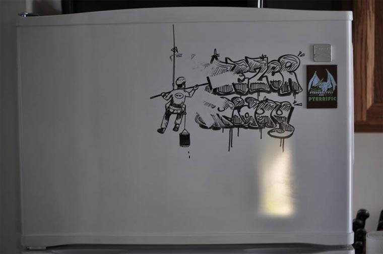 Zeichnungen auf Kühlschränken: Charlie Layton Charlie_Layton_14