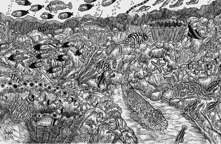 Zeichnungen: Dušan Krtolica Dusan_Krtolica_04