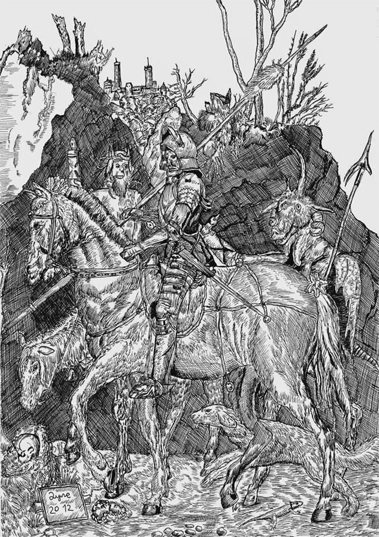 Zeichnungen: Dušan Krtolica Dusan_Krtolica_06