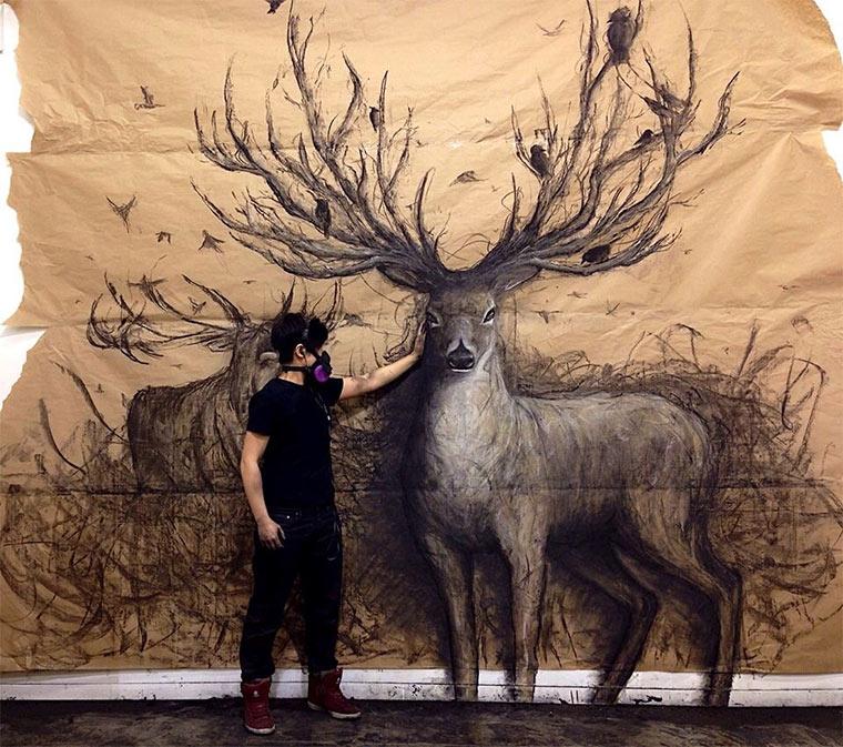 Tierische 3D-Zeichnungen Fiona_Tang_03