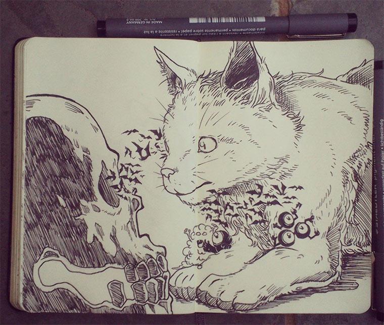 Jeden Tag eine gute Zeichnung Gabriel-Picolo_01
