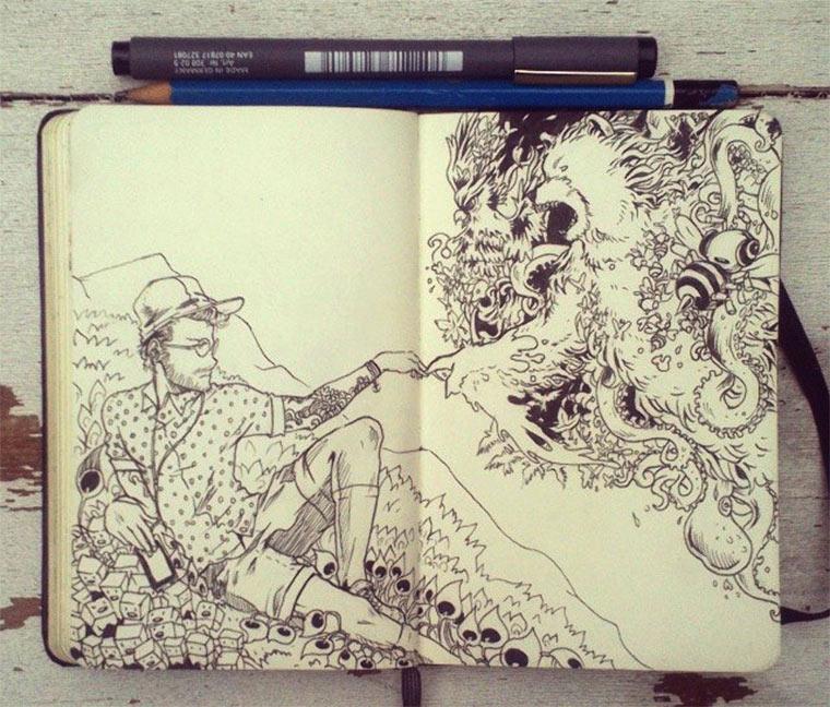 Jeden Tag eine gute Zeichnung Gabriel-Picolo_02