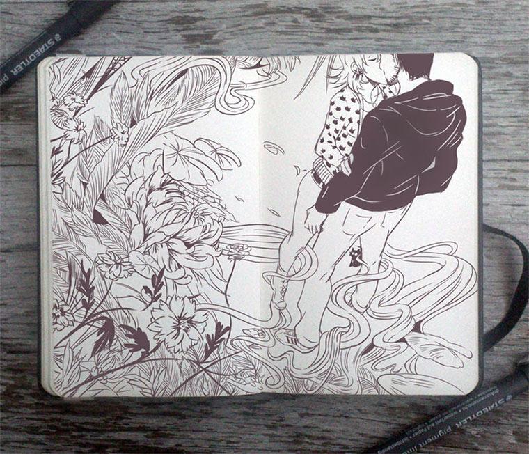 Jeden Tag eine gute Zeichnung Gabriel-Picolo_03