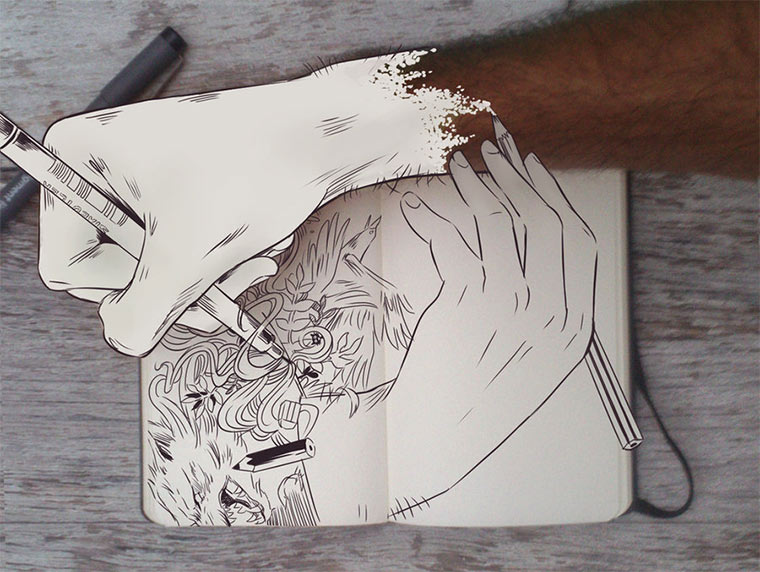 Jeden Tag eine gute Zeichnung Gabriel-Picolo_04