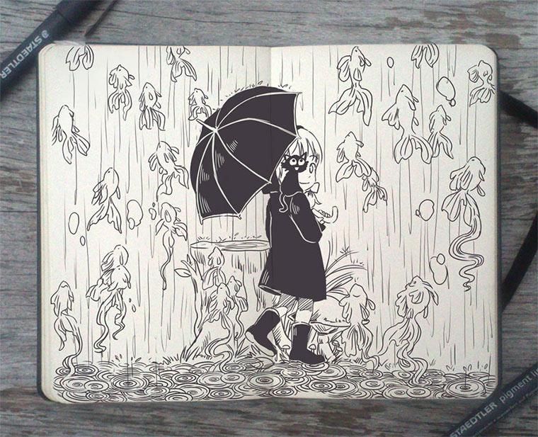 Jeden Tag eine gute Zeichnung Gabriel-Picolo_06