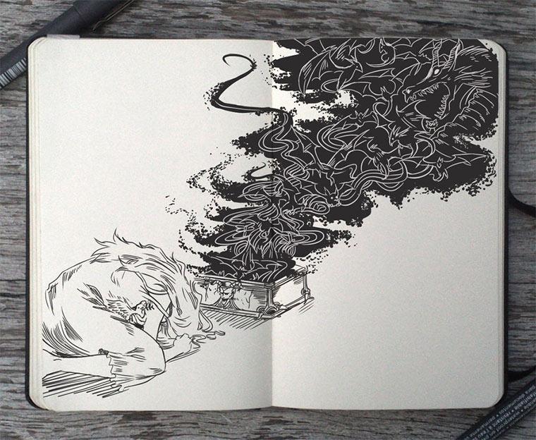 Jeden Tag eine gute Zeichnung Gabriel-Picolo_07