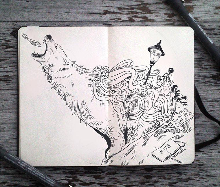 Jeden Tag eine gute Zeichnung Gabriel-Picolo_08