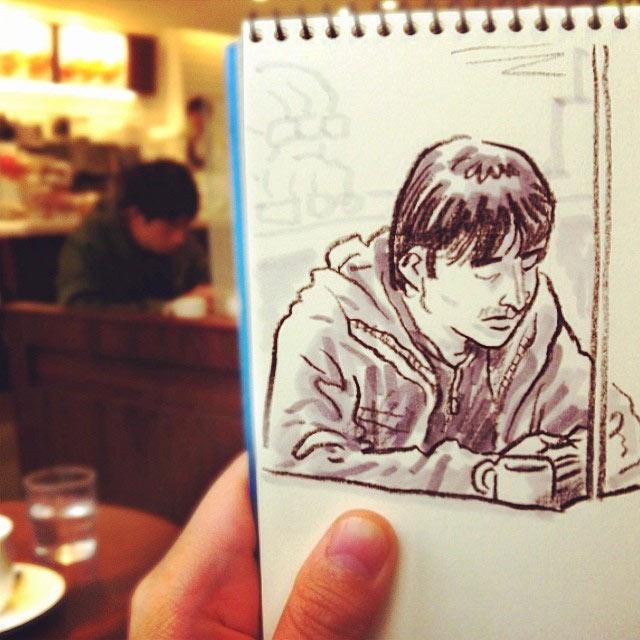 Skizzen aus Tokio Hama-House_06