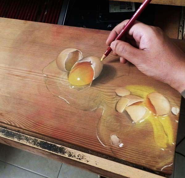Hyperrealistische Zeichnungen: Ivan Hoo