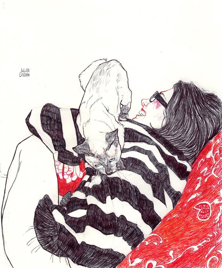 Zeichnungen: Julian Landini Julian_Landini_07