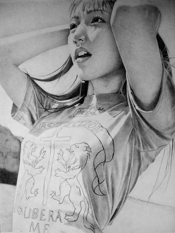 realistische Zeichnungen von Ken Lee