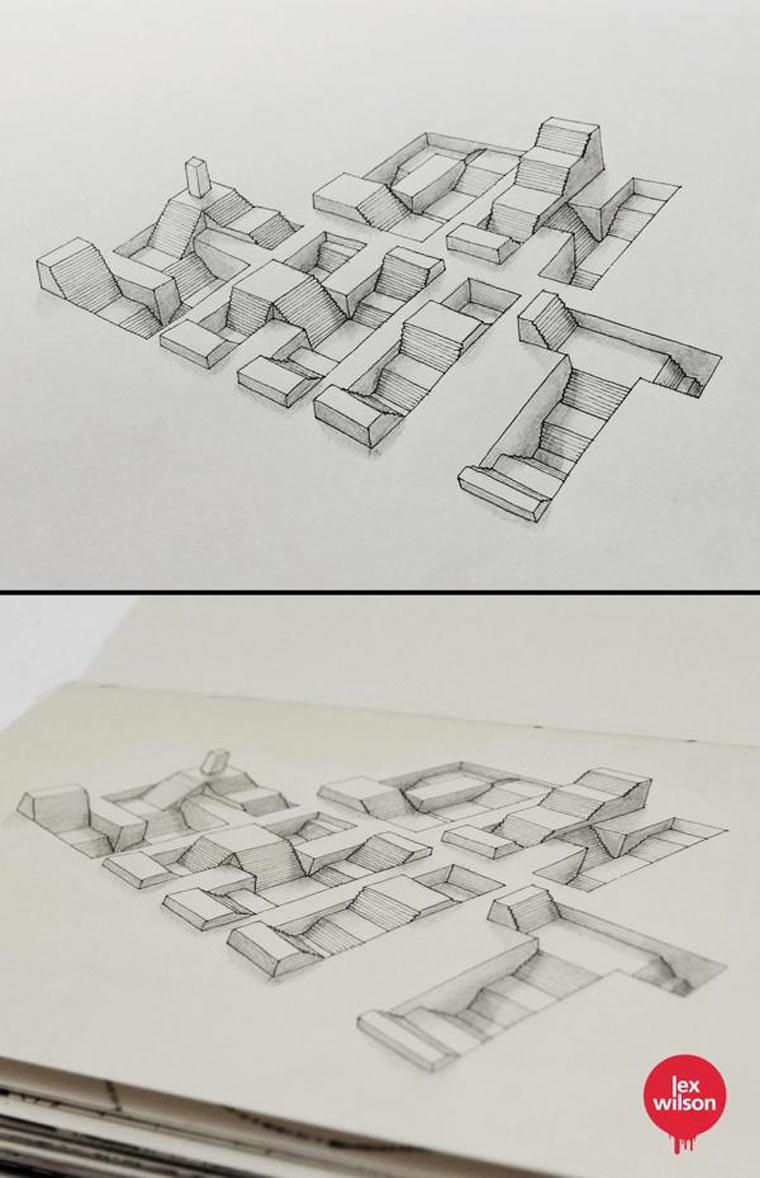 3D-Typografie von Lex Wilson Lex_Wilson_03