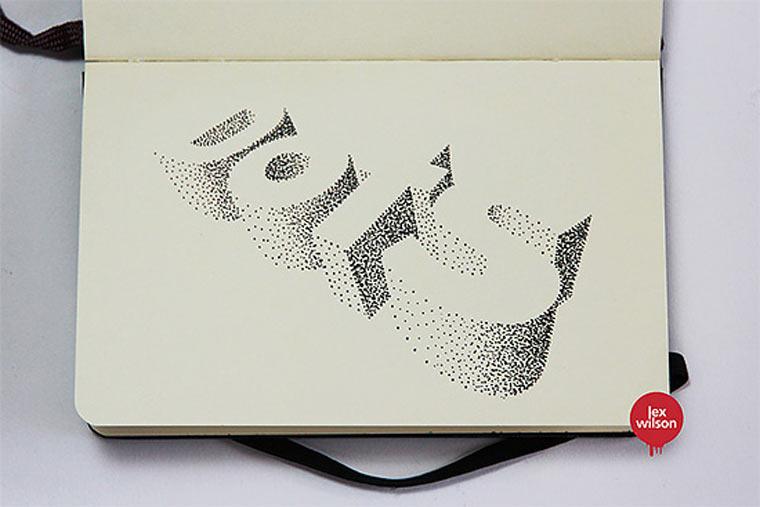 3D-Typografie von Lex Wilson Lex_Wilson_06