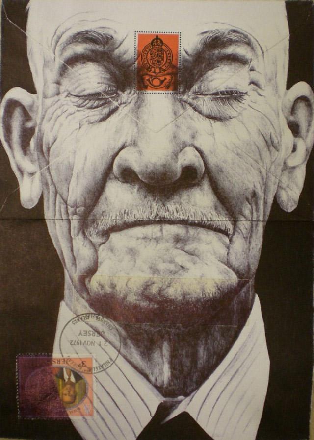 Portrait-Zeichnungen auf Briefumschlägen Mark_Powell_01