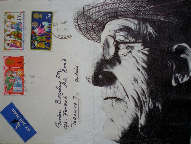 Portrait-Zeichnungen auf Briefumschlägen Mark_Powell_08
